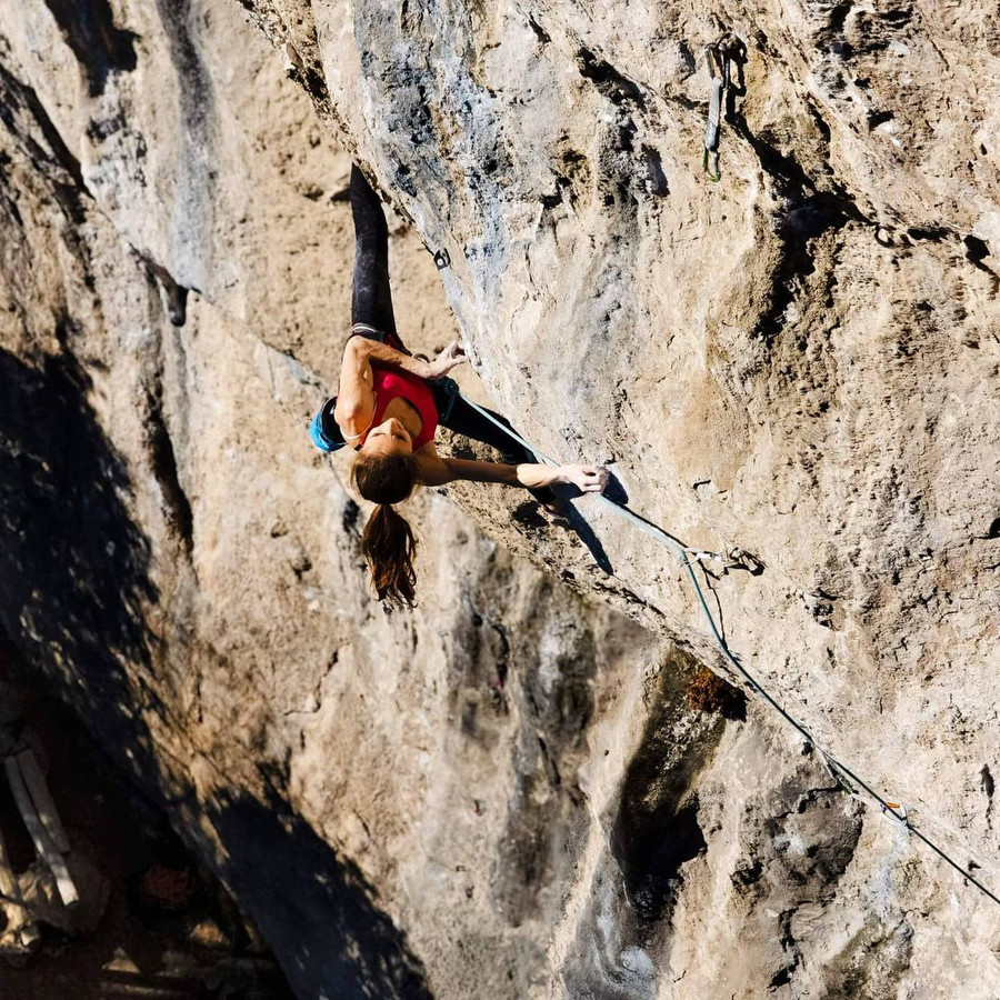 Laura Rogora comments her 9a+