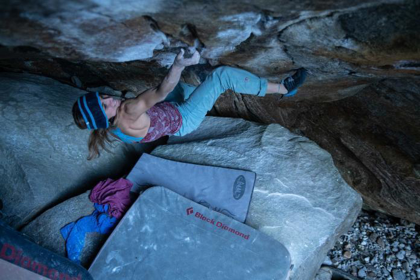 Salamandre 8A (+), 8A's and a 7C+ flash by Camilla Moroni